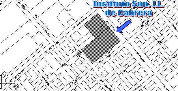 Plano de Ubicación del Instituto